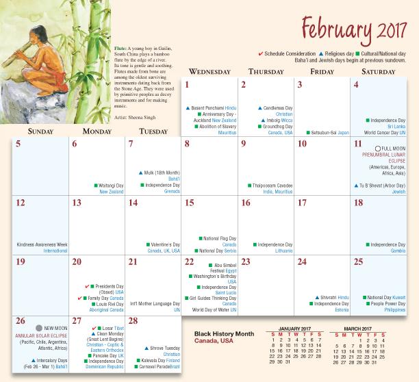 2019 Multicultural Desktop Calendar Diversity Desktop