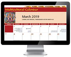 Multicultural Electronic Calendar Online Diversity Calendar In