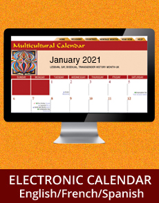 2021 Electronic Multicultural Diversity Calendar